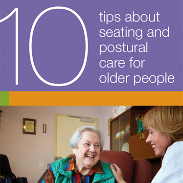 10 Tips about seating and postural care for older people