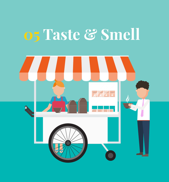 Chapter 5: Taste and smell