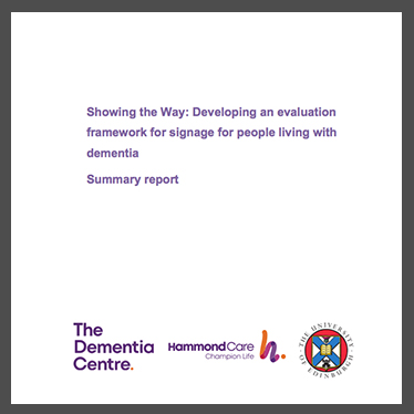 Showing The Way - dementia friendly version
