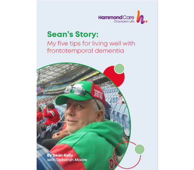 Sean's Story: My five tips for living with frontotemporal dementia
